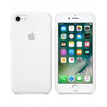 Apple iPhone 7 Silicone Case White