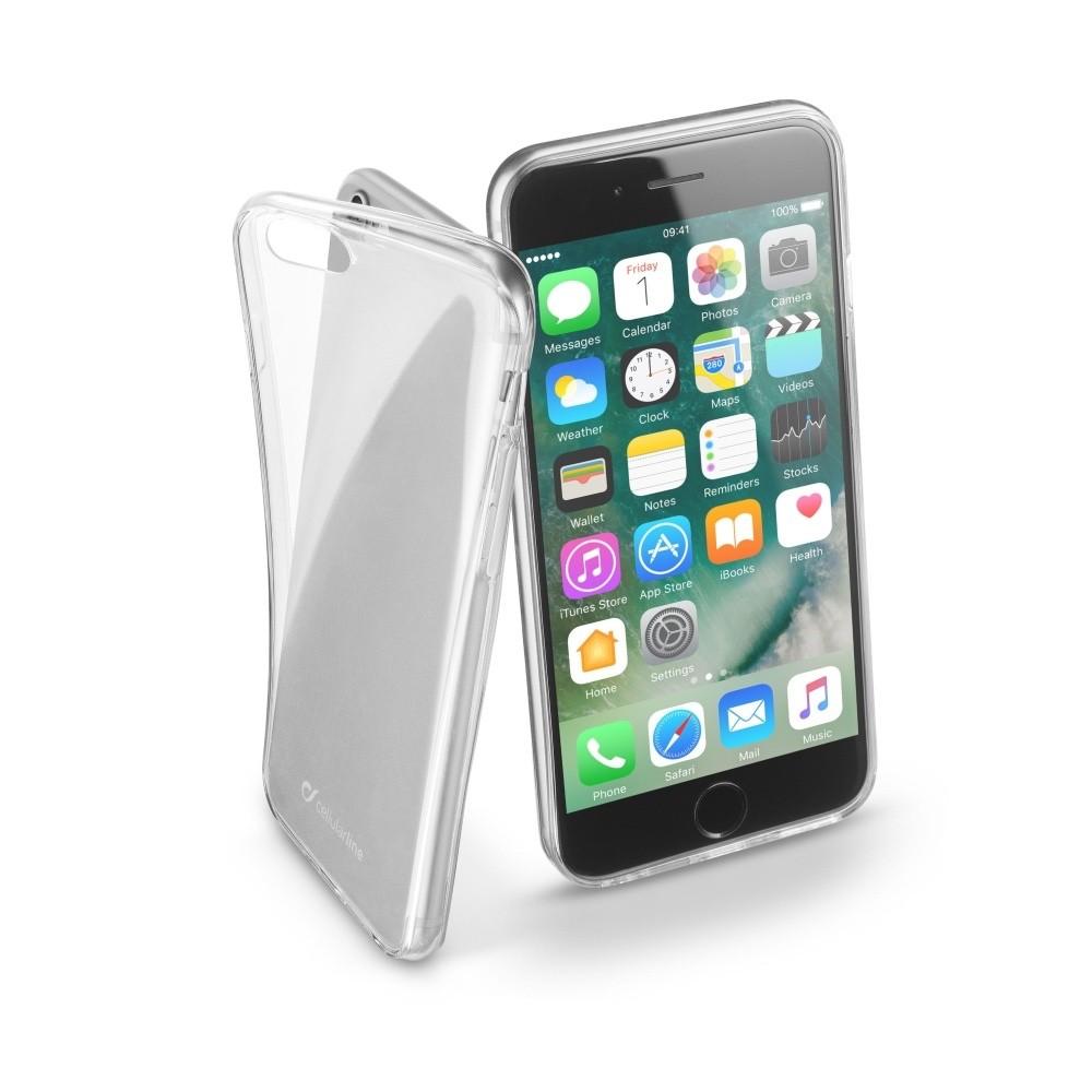 Cellularline Fine kryt pro iPhone 7/8, Průhledná