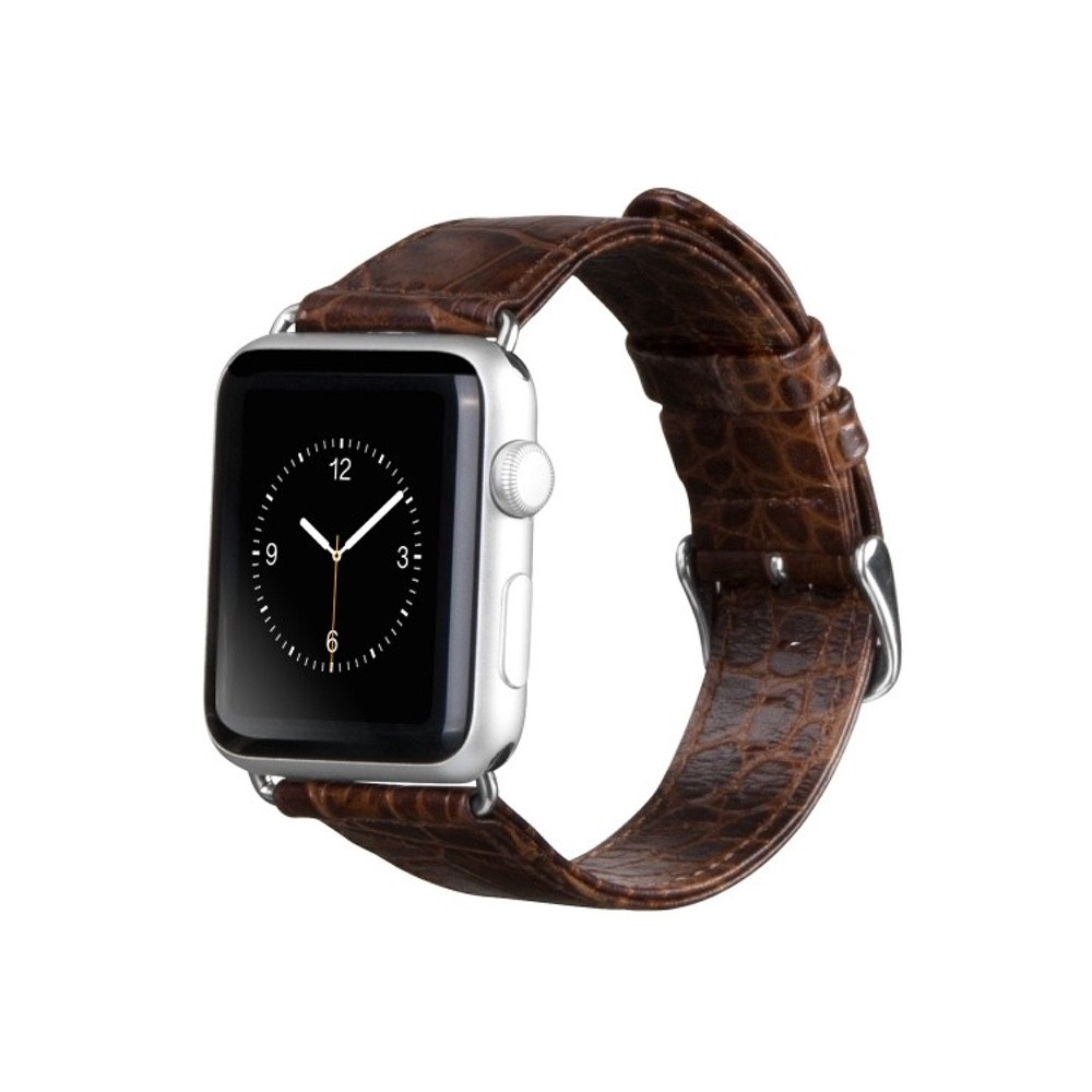 HOCO Apple watch pásek leather 42 mm hnědý