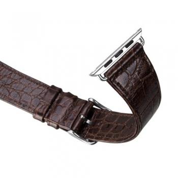 HOCO Leather Brown řemínek pro Apple Watch (38mm)