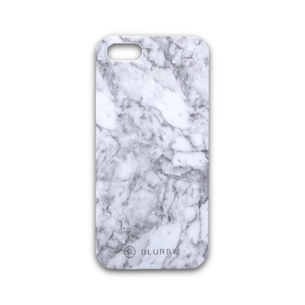 Blurby Matte Pearl White Marble kryt pro iPhone SE/5S/5