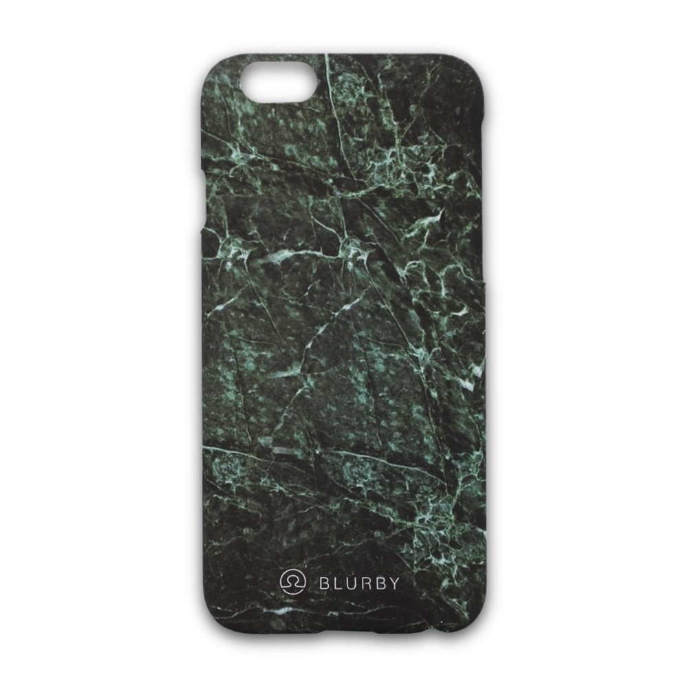 Blurby Matte Emerald Green Marble Case for iPhone 6/6S Plus