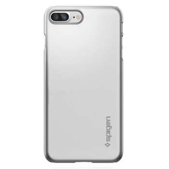 Spigen Thin Fit Case for iPhone 7 Plus / 8 Plus satin silver