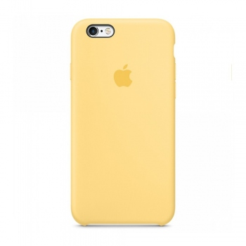 Apple iPhone 6/6S Silicone Case Yellow