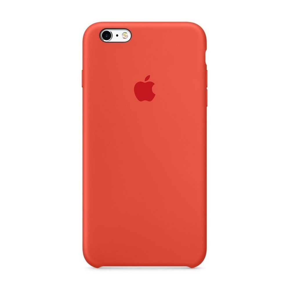 Apple iPhone 6S Silicone Case Oranžové