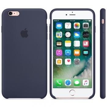 Apple iPhone 6S Silicone Case Půlnočně modrý