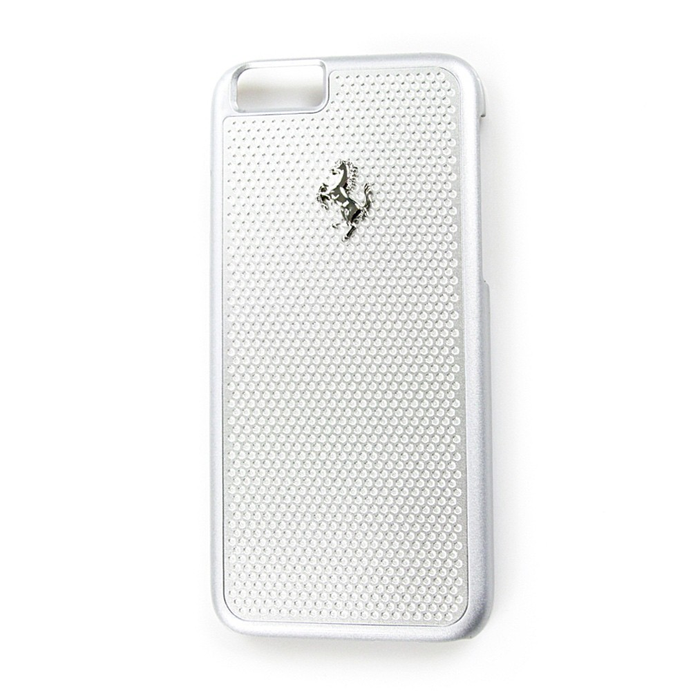 Ferrari Perforated Aluminium kryt pro iPhone 6/6S