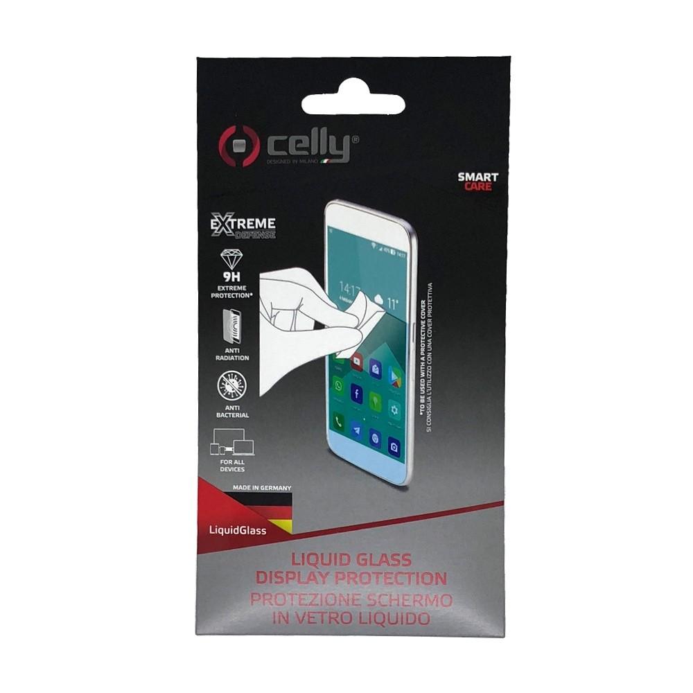 CELLY LIQUID GLASS Univerzální ochranné tekuté sklo pro telefony a tablety / tvrdost 9H (LIQUIDGLASS)