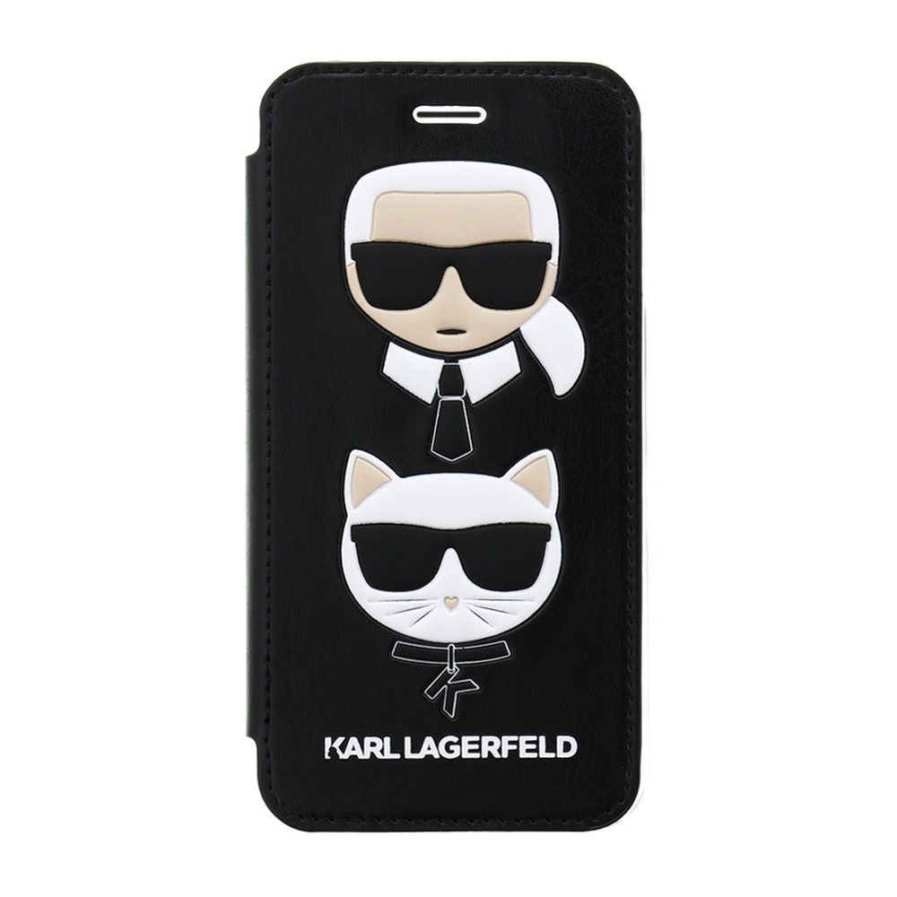 Karl Lagerfeld & Choupette Book case for iPhone 8/7