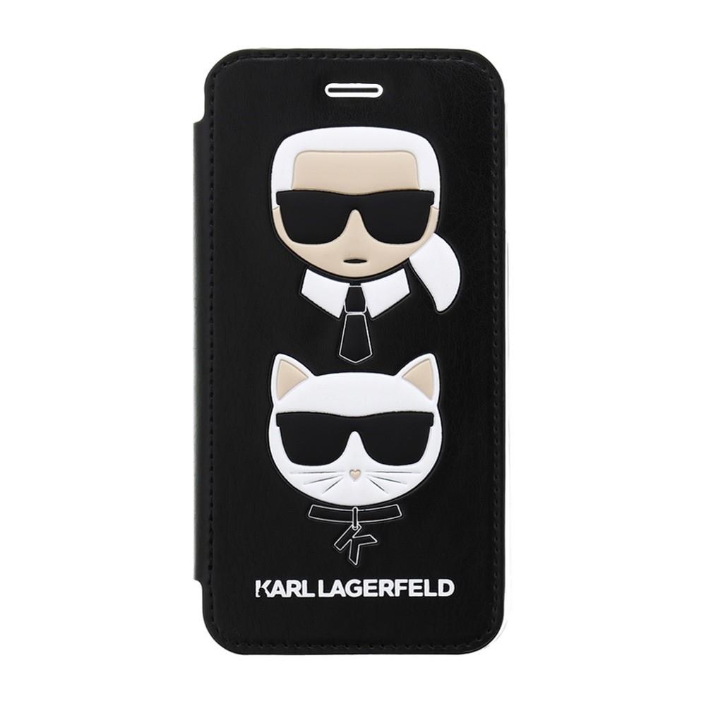Karl Lagerfeld & Choupette Book pouzdro pro iPhone 8/7