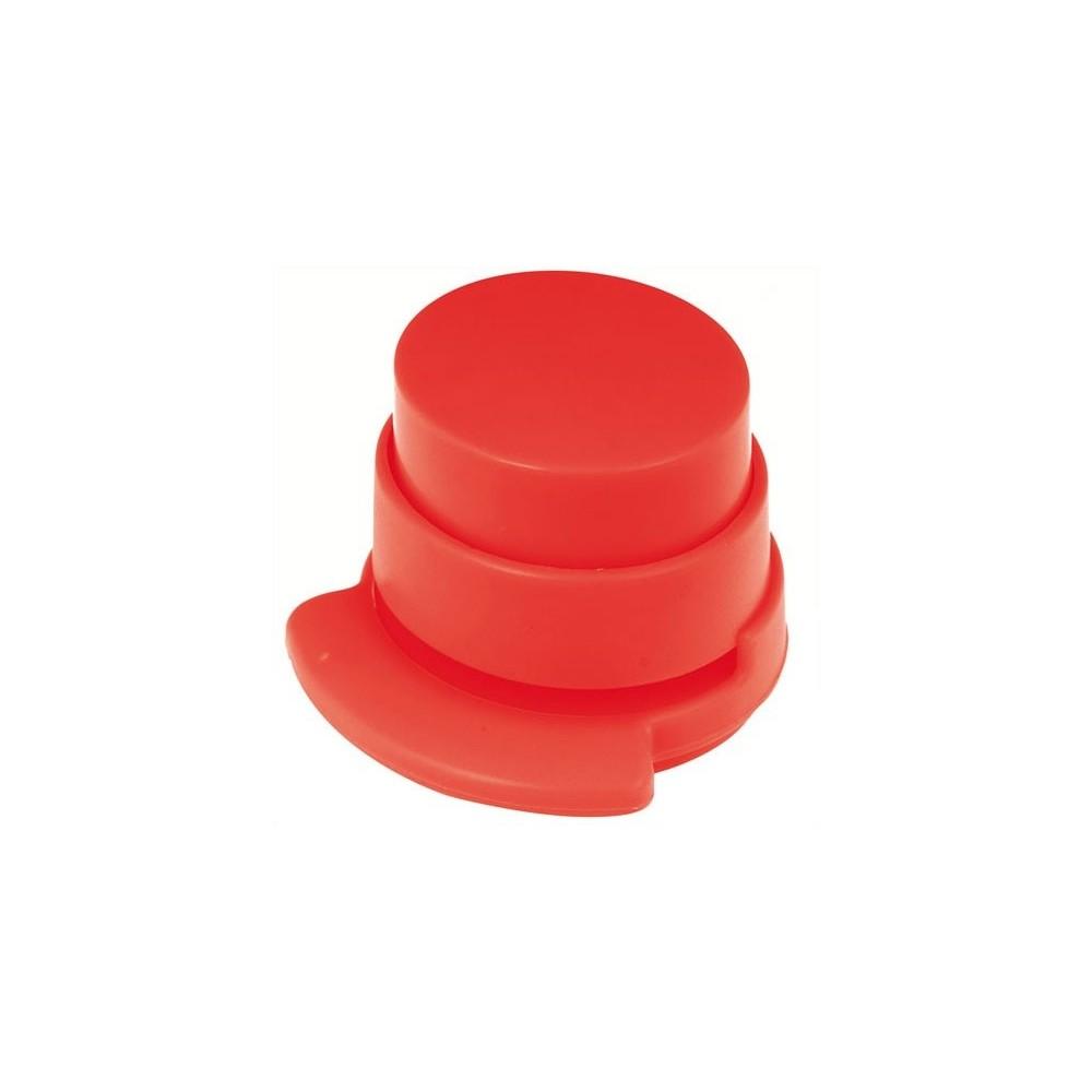 Eko sešívačka - beznáplňová, Barva Červená