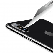 USAMS Camera Lens Glass Film - tvrzené sklo na kameru pro iPhone X