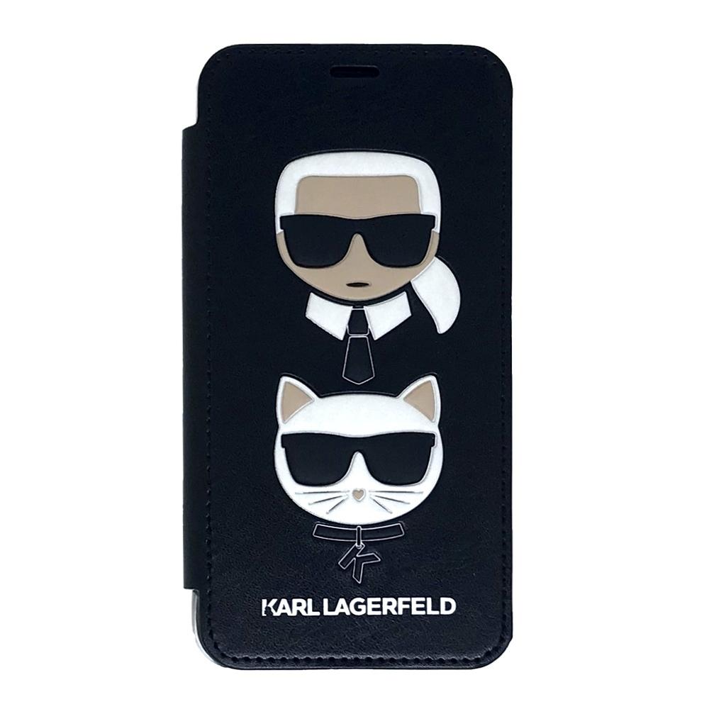 Karl Lagerfeld & Choupette Iconic Book pouzdro pro iPhone Xs / X