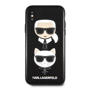 KLHCPXKICKC  Karl Lagerfeld & Choupette Iconic kryt pro iPhone X