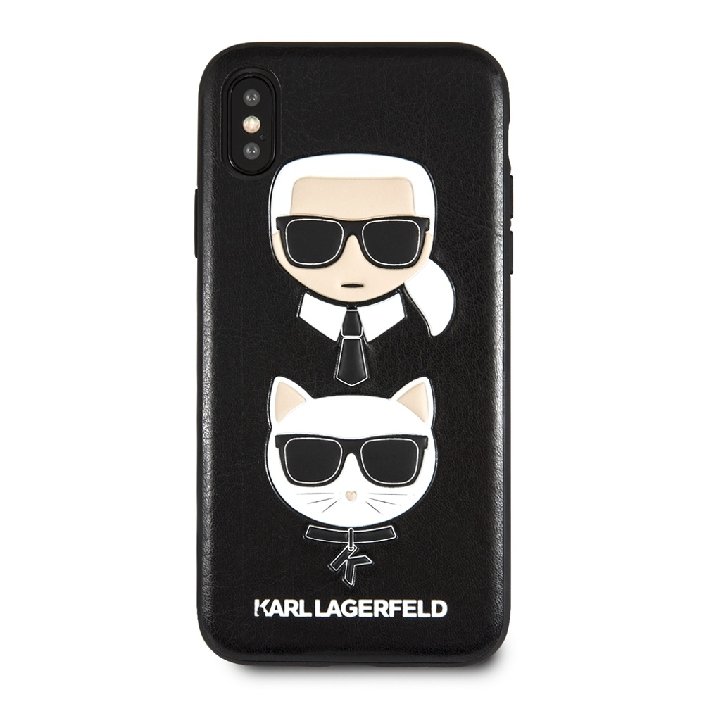 Karl Lagerfeld & Choupette Case for iPhone X