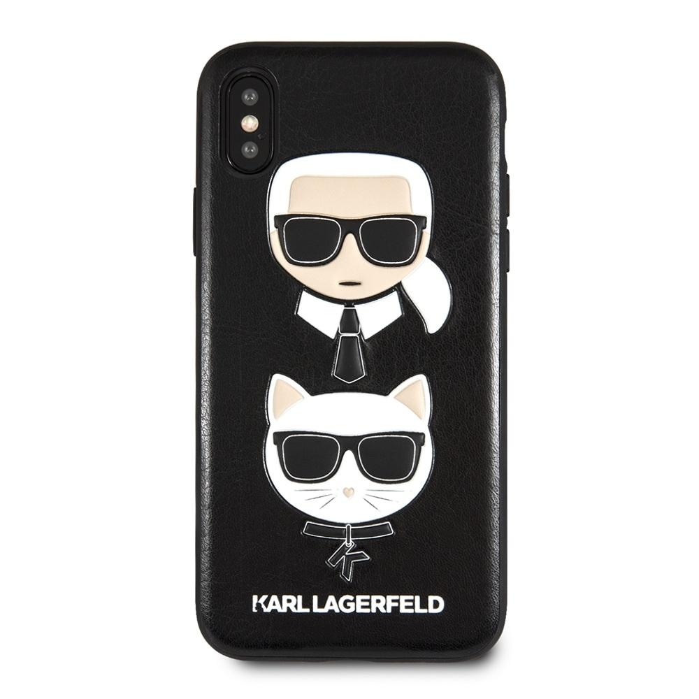KLHCPXKICKC  Karl Lagerfeld & Choupette Iconic kryt pro iPhone X
