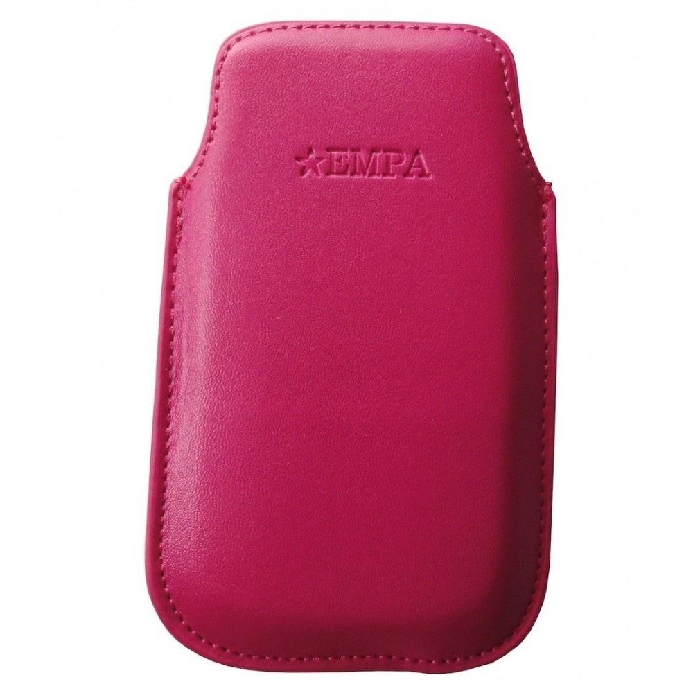 Kožené pouzdro pro iPhone 4/4S, Barva Růžová