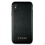 Guess Iridescent kryt pro iPhone Xs Max černý