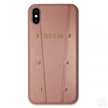 Guess Kaia kryt pro iPhone Xs Max - rose gold