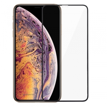 Swissten Ultra Durable 3D tempered glass for iPhone Xs Max
