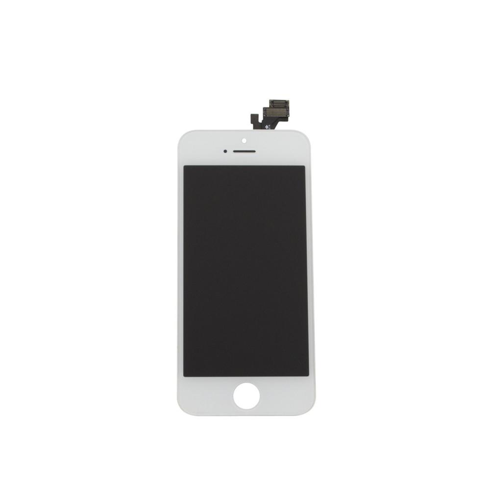 Kompletní LCD panel - displej pro Apple iPhone 5 - bílý