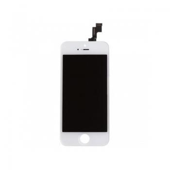 Kompletní LCD panel - displej pro Apple iPhone SE / 5S - bílý