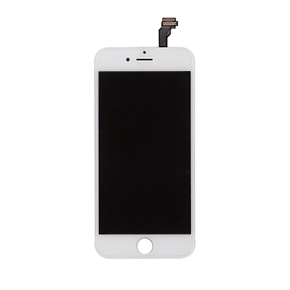 LCD displej + dotyková deska pro Apple iPhone 6 - bílá
