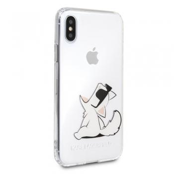 Karl Lagerfeld Fun Choupette kryt pro iPhone Xs / X