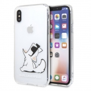 Karl Lagerfeld Fun Choupette Cover for iPhone Xs / X