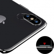 USAMS Camera Lens Glass Film for iPhone Xs Max