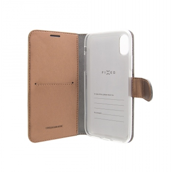 Fixed Fit Shine pouzdro pro iPhone 8 / 7 bronzové