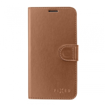 Fixed Fit Shine Booktype Case for iPhone 8 / 7 - bronze